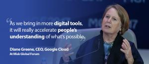 Diane Greene at Misk Global Forum